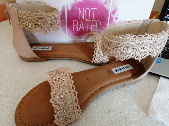 Sandalias Mujer Not Rated