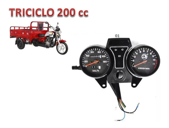 Painel Do Triciclo A Ar 200 Cc Wuyang Shineray
