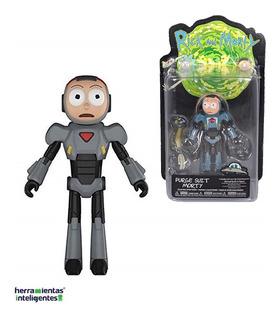 Purge Suit Morty Articulado Funko Rick And Morty Figura