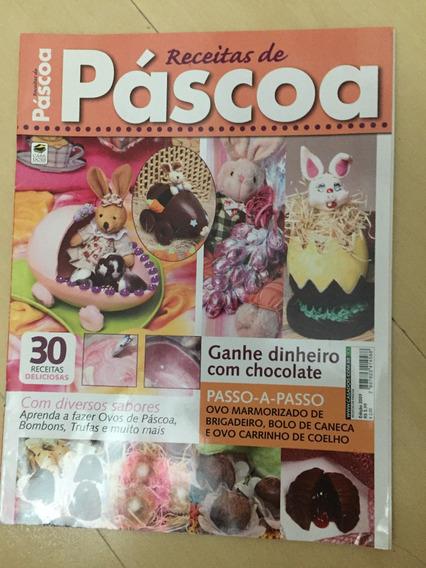 Revista Receitas De Páscoa 2009 Bombons Trufas Ovos Z422