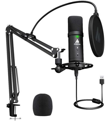 Microfono Usb 192 Khz / 24 Bits Monitoreo De Latencia Cero