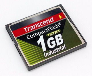 Compact Flash Transcend Ultra Industrial 1gb Ts1gcf100i