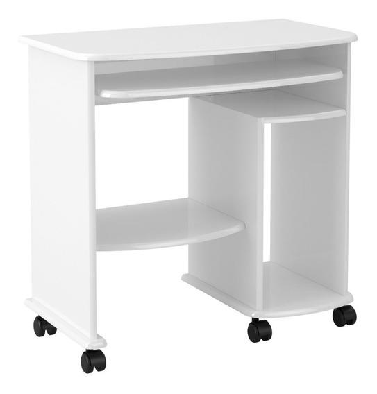 Mesa Para Computador Escrivaninha Com Rodízios Home Office Dalla Costa C211