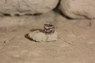 Anillo De Plata Con Piedra Reconstituida
