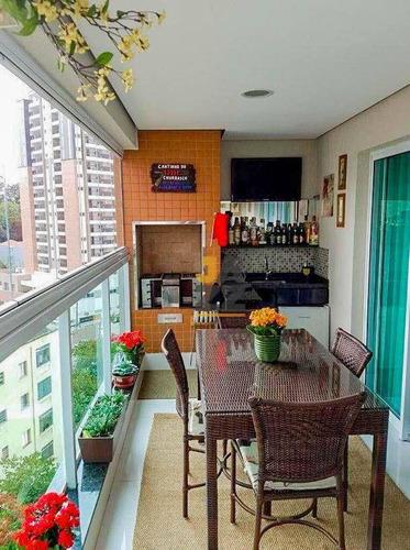 Magnifico  Apartamento Com 3 Dormitórios À Venda, 97 M² Por R$ 950.000 - Santana - São Paulo/sp - Ap8181