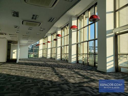 Laje Comercial, 476m² - Venda Ou Aluguel - Brooklin - São Paulo/sp - Lj0469