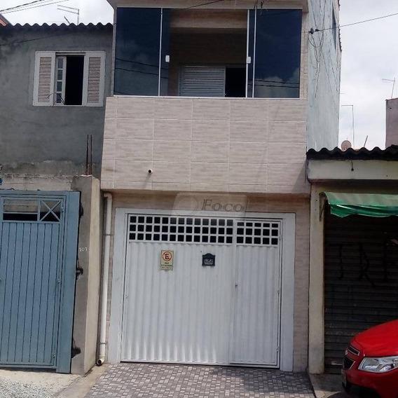 Sobrado Residencial À Venda, Parque São Miguel, Guarulhos. - So0300