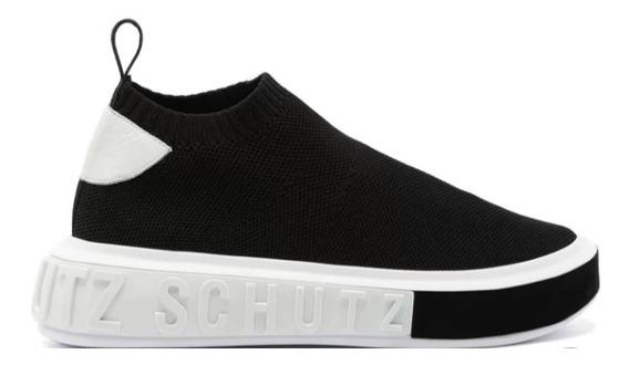 Tênis Schutz Sneaker It Schutz Bold Knit Black