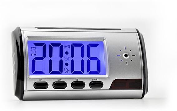 Camara Espia Reloj Despertador Hd Filma Fotos Control Remoto