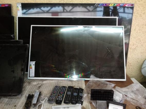 Placa Da Tv Led Smart 47pfg6519/78 Tela Quebrada (peças)