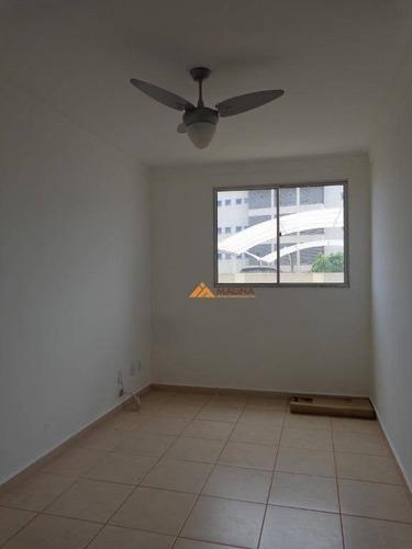 Imagem 1 de 29 de Apartamento Com 2 Dormitórios, 45 M² - Venda Por R$ 220.000,00 Ou Aluguel Por R$ 1.000,00/mês - Nova Aliança - Ribeirão Preto/sp - Ap3472