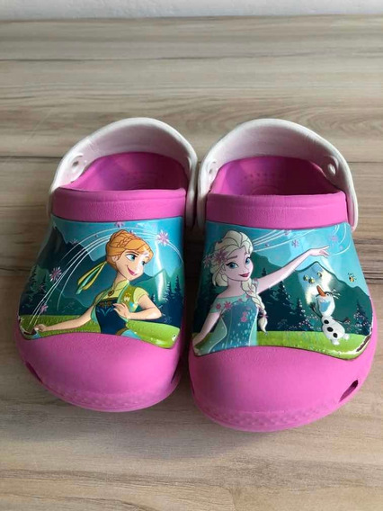 Crocs Niña Frozen - Disney - Impecable