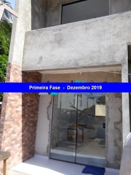 Village De Ponta Negra - Venda De Casa Duplex Com 2 Quartos, Pelo Programa Minha Casa Minha Vida - Ca00108 - 34125764