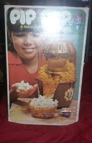 Máquina De Fazer Pipocas Pip Pop. Original Brinquedo Dc 70