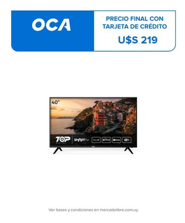 Televisor Smart Tv Top Digital 40 Full Hd Hdmi Nuevo