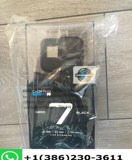 Gopro Hero 7 Black - 4k60 Ultra Hd Hdr Hypersmooth Live Cam