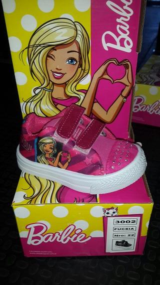 Zapatillas Barbie Originles! Con Abrojos