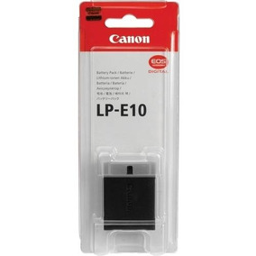 Bateria Lp-e10 - Canon T3, T5 E T6 Original Lacrado Nota