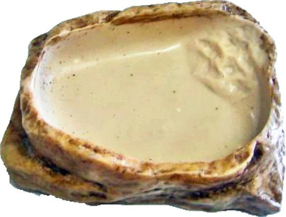 Cr 003, Comedouro Bebedouro Médio Gecko Corn Snake Reptmania