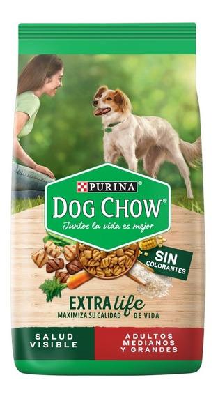 Dog Chow Sin Colorantes Adulos Med Y Grand 21 Kg + Regalos
