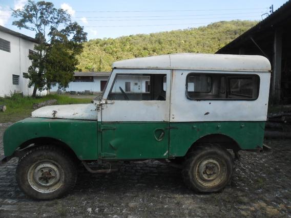 Vendo Land Rover 1953 Serie De Colecionador, Raridade