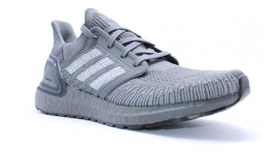 Championes adidas Ultraboost 20 Grey- Running Original