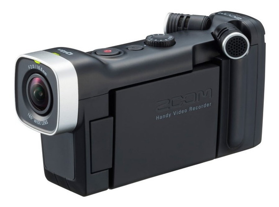 Gravador Digital De Áudio E Vídeo Zoom Q4n - Saída Hdmi