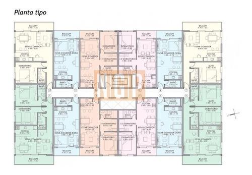 Promocion  1 Dormitorio Y Medio Promocion !!!!!   Hay 4 Unidades Que Llevan La Cochera De Regalo !!!!!!-ref:7719