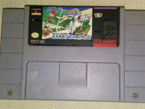 Rabbit Rampage Snes Original