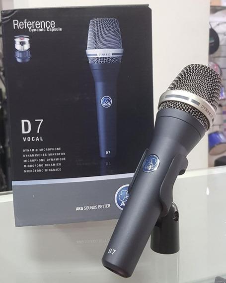 Microfone Profissional Akg D7 (garantia + Nf)