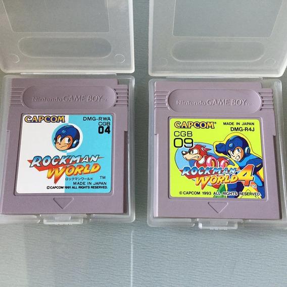 Rockman World + Rockman World 4 - Game Boy - Megaman