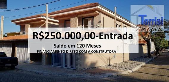 Sobrado Em Praia Grande, 03 Dormitórios Sendo 03 Suítes, Canto Do Forte, So0062 - So0062