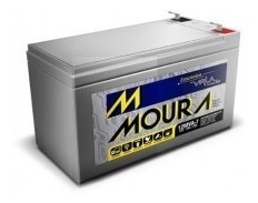 Bateria Moura 12v 7a Para Nobreak Estabilizador Ccftv Camera