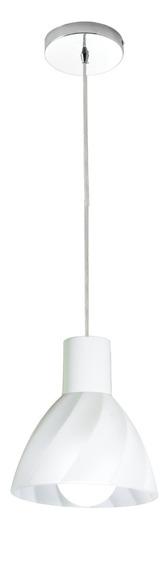 Lustre Pendente Vidro Bancada Balcão Cozinha - Anello 1 E27