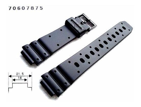 Pulseira Casio 100%original Preta Rgw20g Tgw-10 W-60u Trw-10