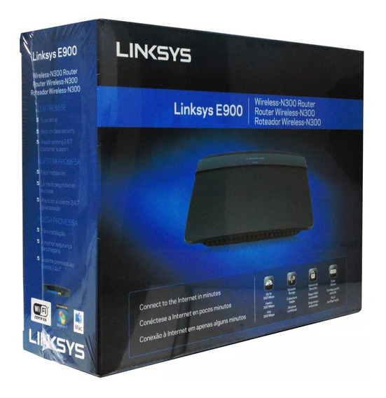 Router Inalambrico Linksys E900 Wireless N-300 Mbps Wifi