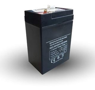 Bateria Seca 6v 4,5ah Incendio,lampara De Emergencia,balanza