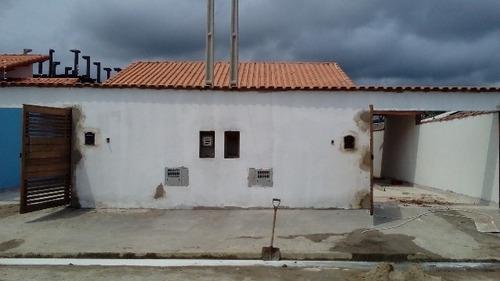 Imagem 1 de 9 de Boa Casa No Bairro Magalhães Com Jardim Em Itanhaém - 3734