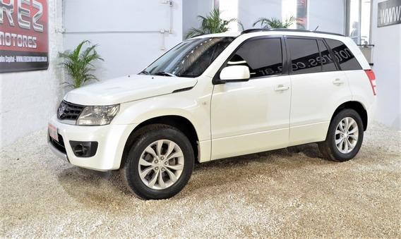 Suzuki Grand Vitara Jlx 2.4 4x2 Blanco 2014 Nafta