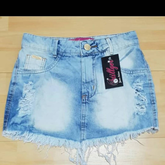 Polleras De Jeans/minis