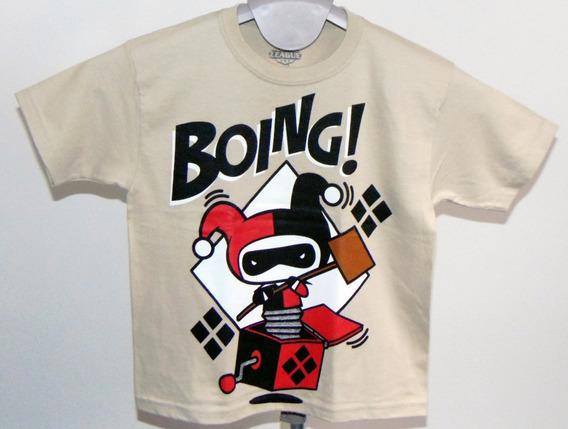 Playera Original Kids Harley Quinn Boing!