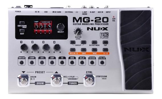 Pedalera Multiefecto Guitarra Nux Mg 20