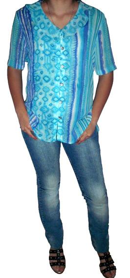 Blusa Muy Fresca De Mujer - Onda Hindu