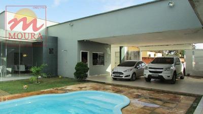 Casa Com 3 Dormitórios À Venda, 342 M² Por R$ 750.000 - Goiabal - Macapá/ap - Ca0467