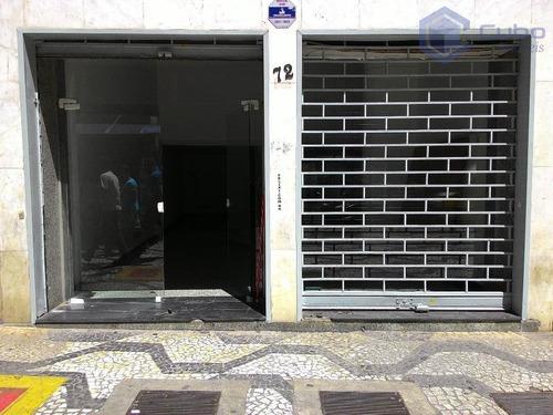 Loja Para Alugar, 127 M² Por R$ 13.000,00/mês - República - São Paulo/sp - Lo0003