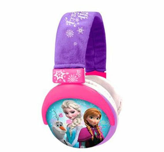Fone Da Frozen Headphone Plush