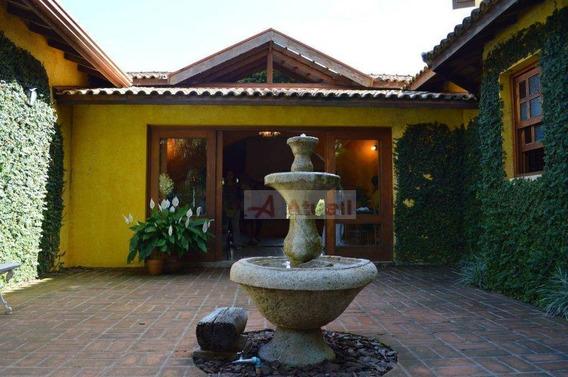 Chácara Residencial Para Venda E Locação, Parque Jatibaia (sousas), Campinas. - Ch0026