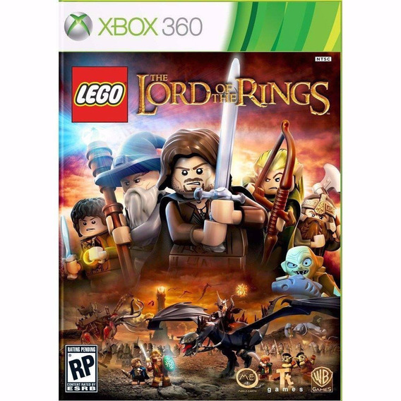 Lego The Lord Of The Rings Português Xbox 360 Mídia Física