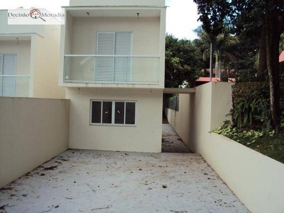 Sobrado Com 3 Dormitórios À Venda, 130 M² Por R$ 649.000,00 - Granja Viana - Cotia/sp - So0982