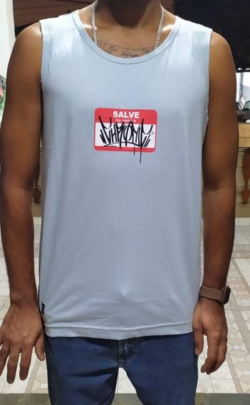 Camiseta Regata Unissex Original Chronic Salve My Name